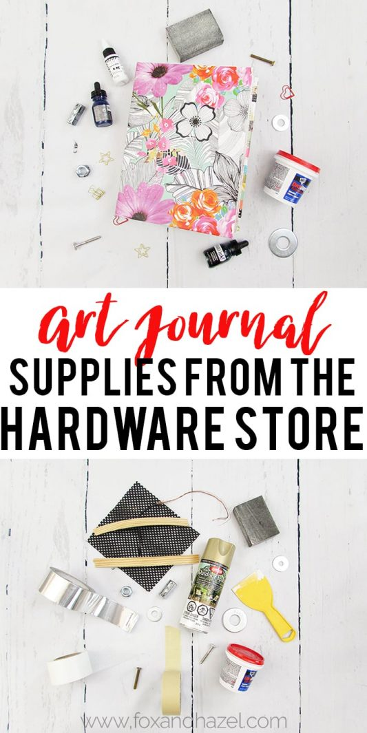 Art Journal Supplies From The Hardware Store - Pinterest