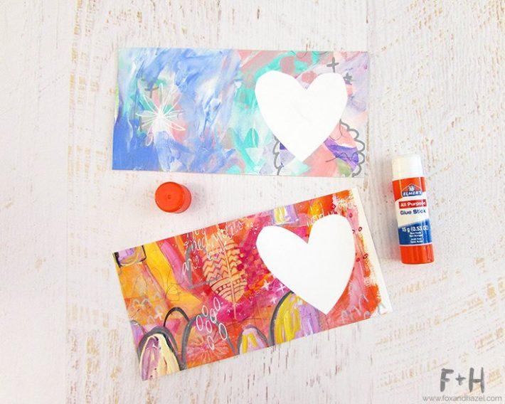 How To Create a Valentine Card - Fox + Hazel