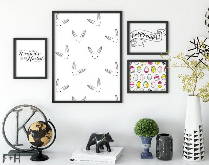 25 Modern Easter Prints-fox + hazel
