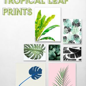 free tropical art prints gallery