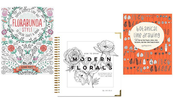 Top 12 Books for Easy Flower Drawings - Fox + Hazel