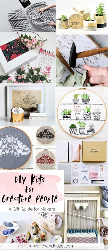 DIY Kits for Creative People -Fox + Hazel - Pinterest 2