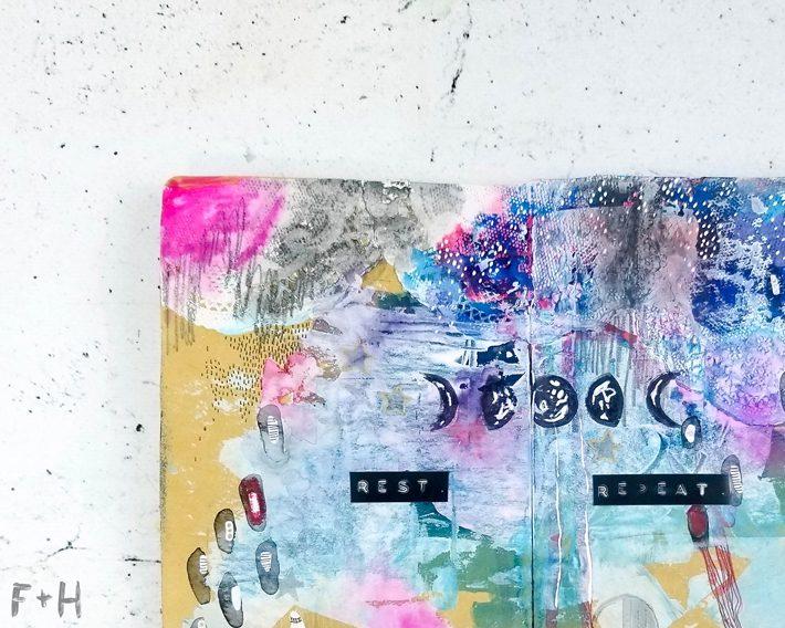 Art Journal Pages - Fox + Hazel