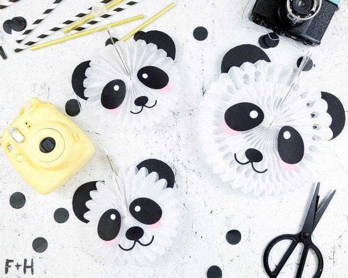 Panda Bear Party Decor - Fox + Hazel