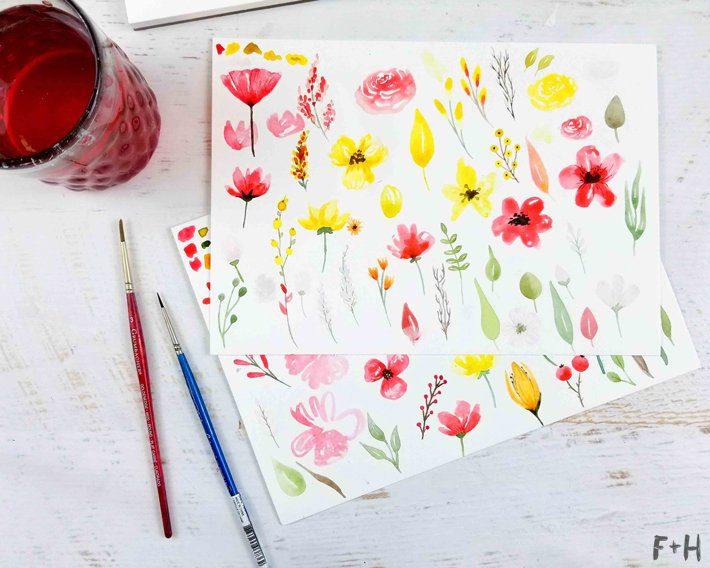 Stonehenge Aqua Watercolor Paper Review - Fox + Hazel