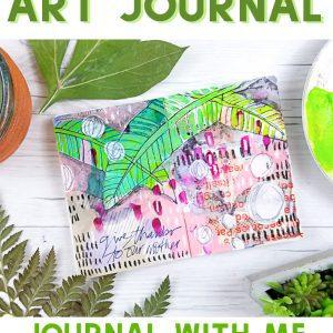 resktech journal with stencilgirl
