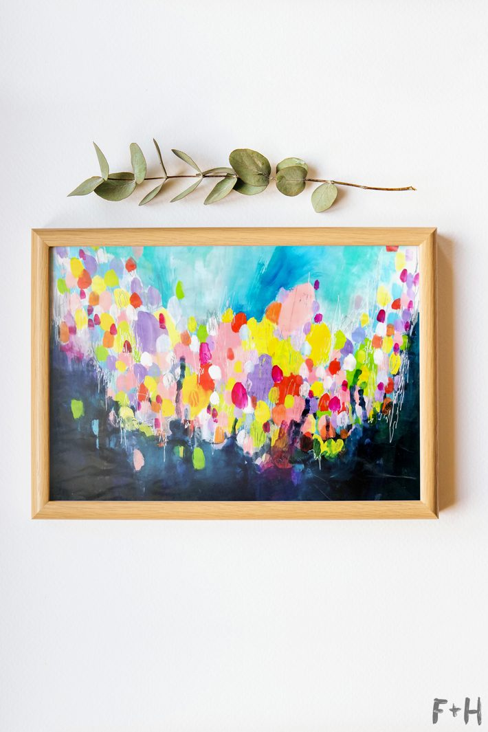Free Printable Abstract Wall Art - Fox + Hazel