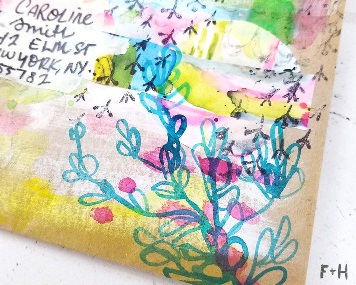 envelope art tutorial