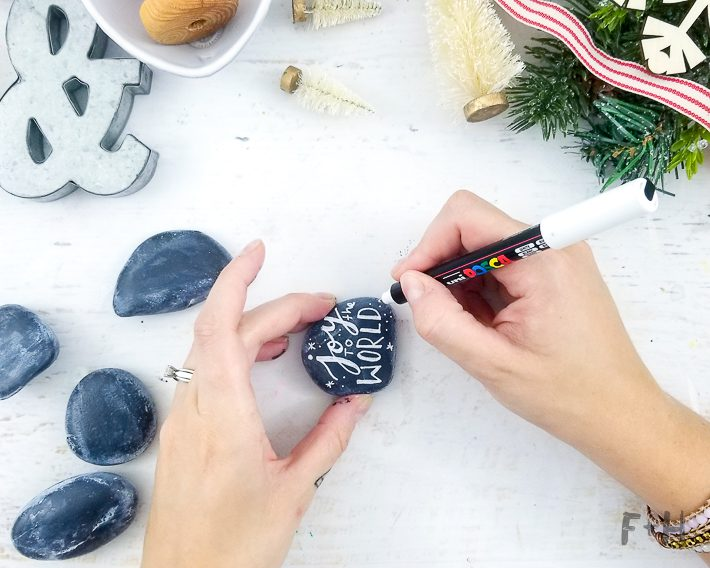 christmas rock painting christmas painted rocks