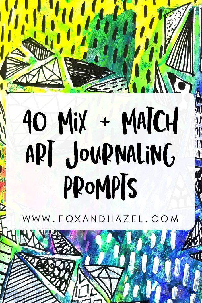 art journaling prompts list