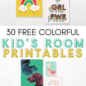 gallery of free wall art printables for children's rooms